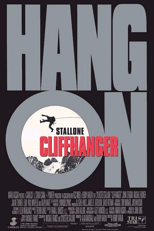 Cliffhanger teaser poster