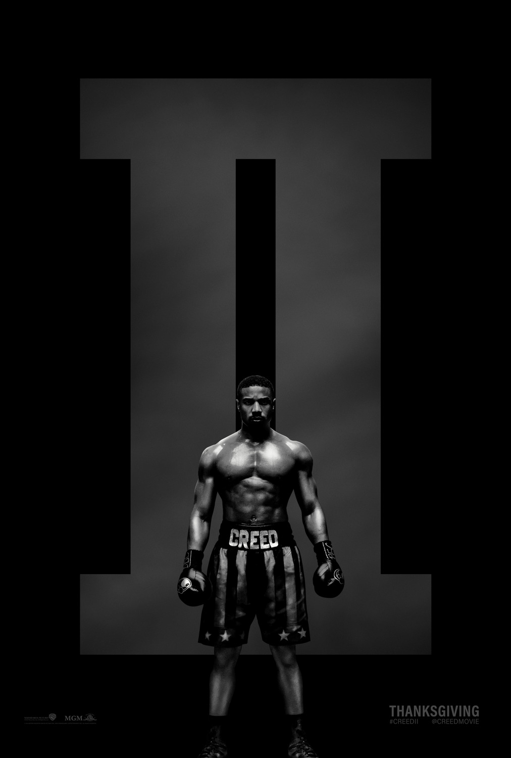 Creed II teaser poster