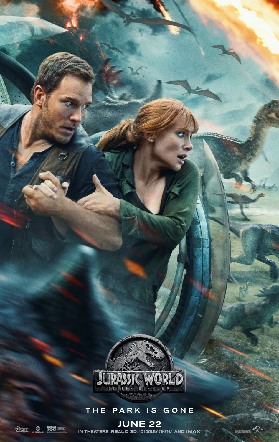 Jurassic World Fallen Kingdom movie poster