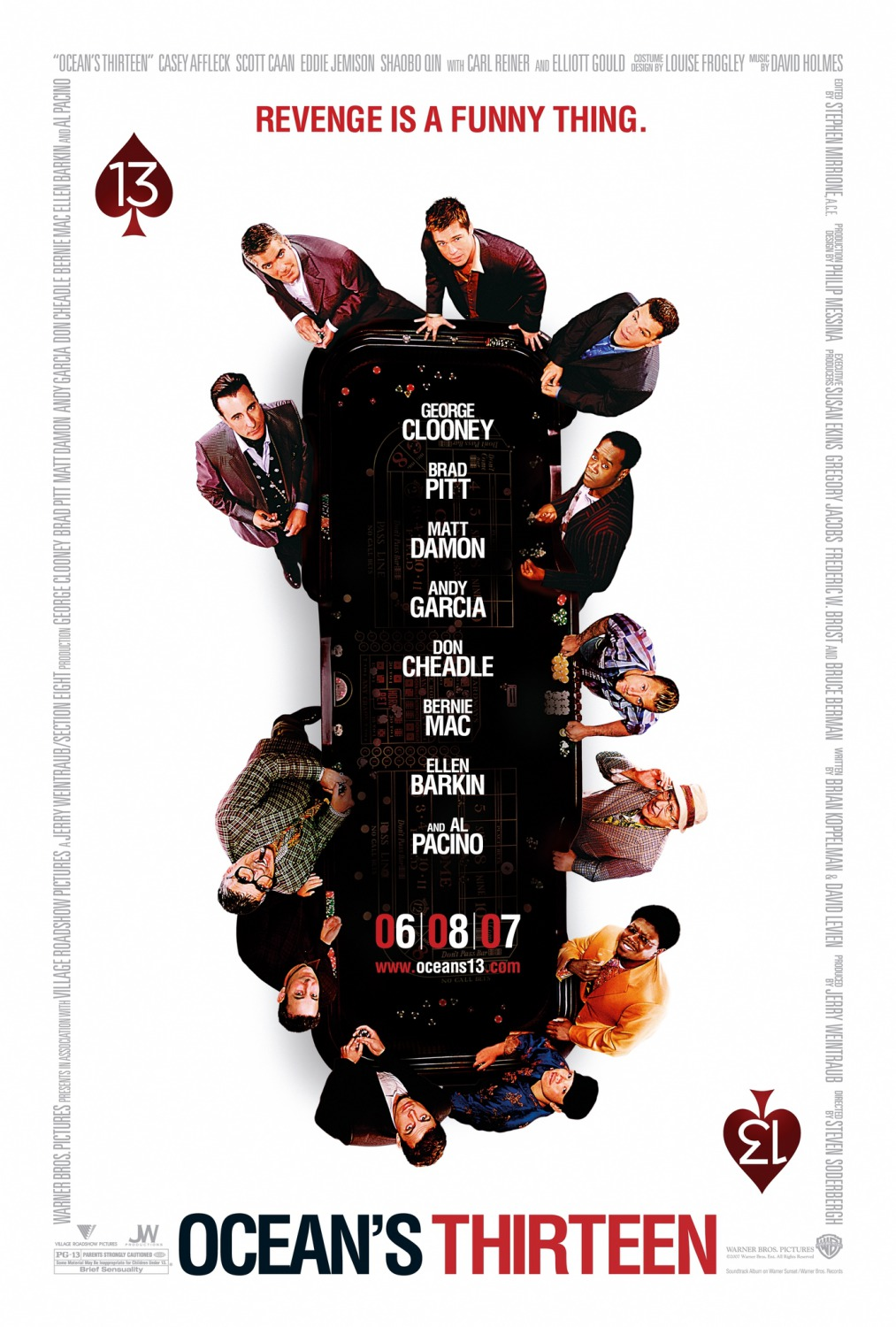 Oceans Thirteen movie poster