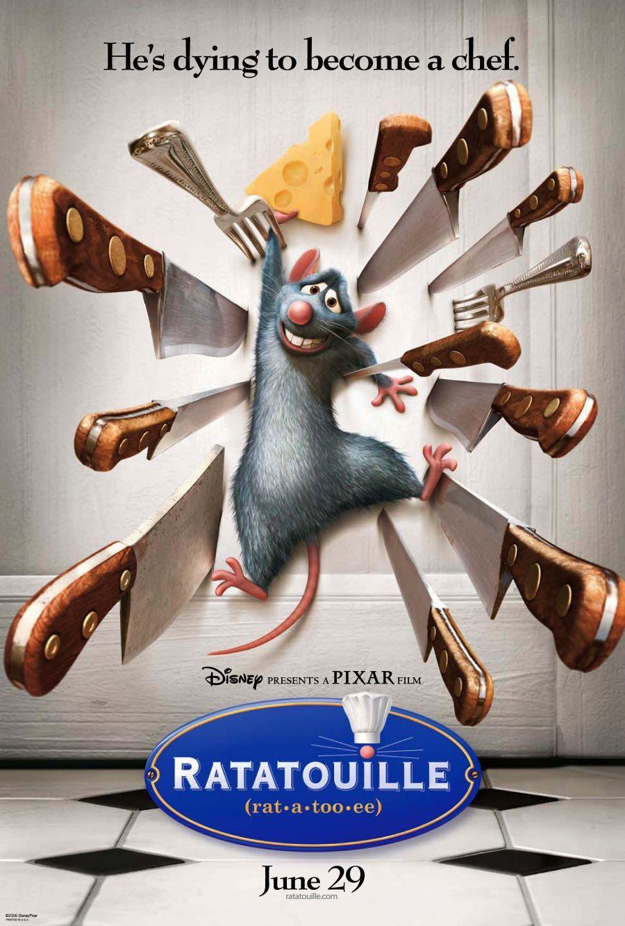 Ratatouille movie poster