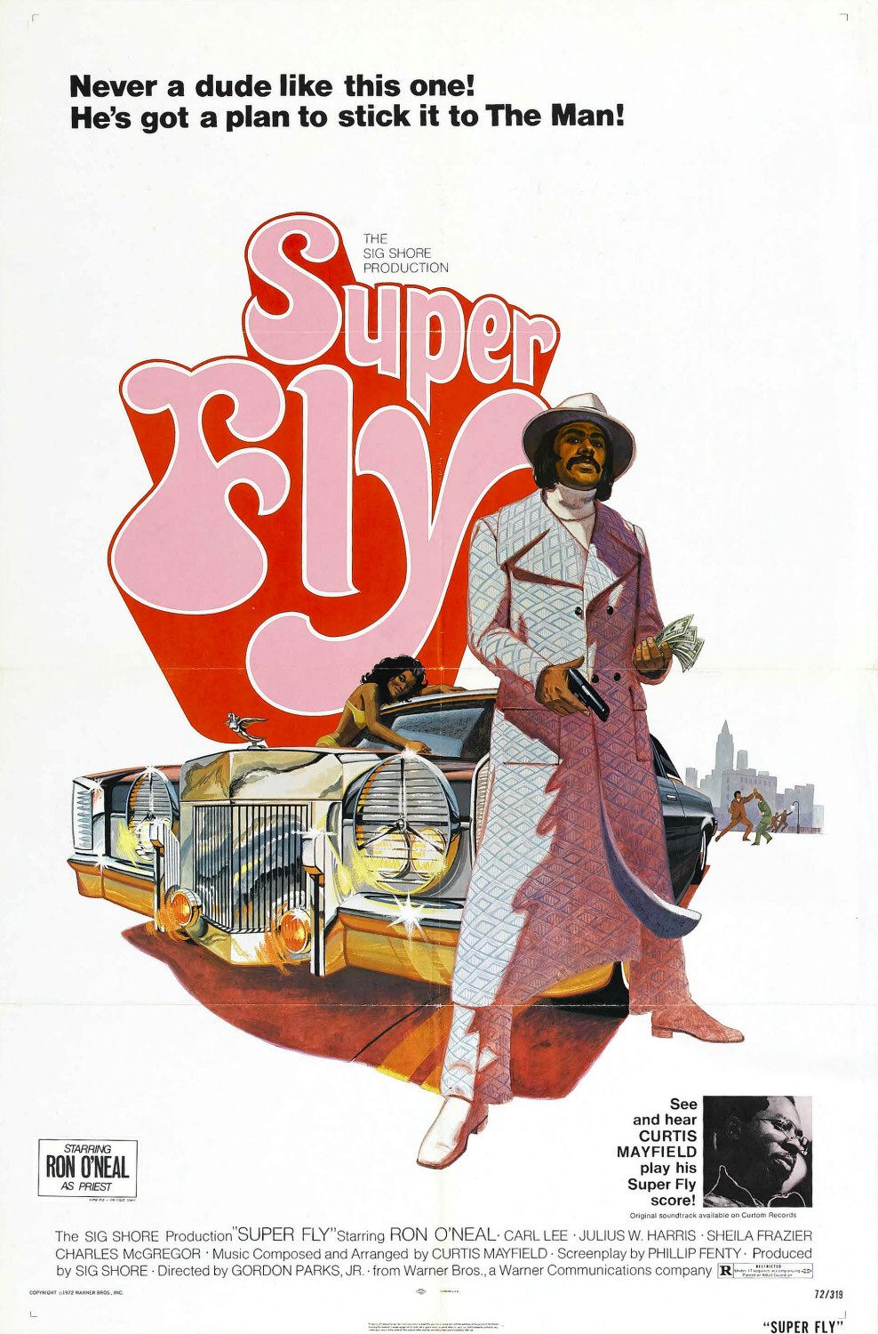 Super Fly 1972 poster