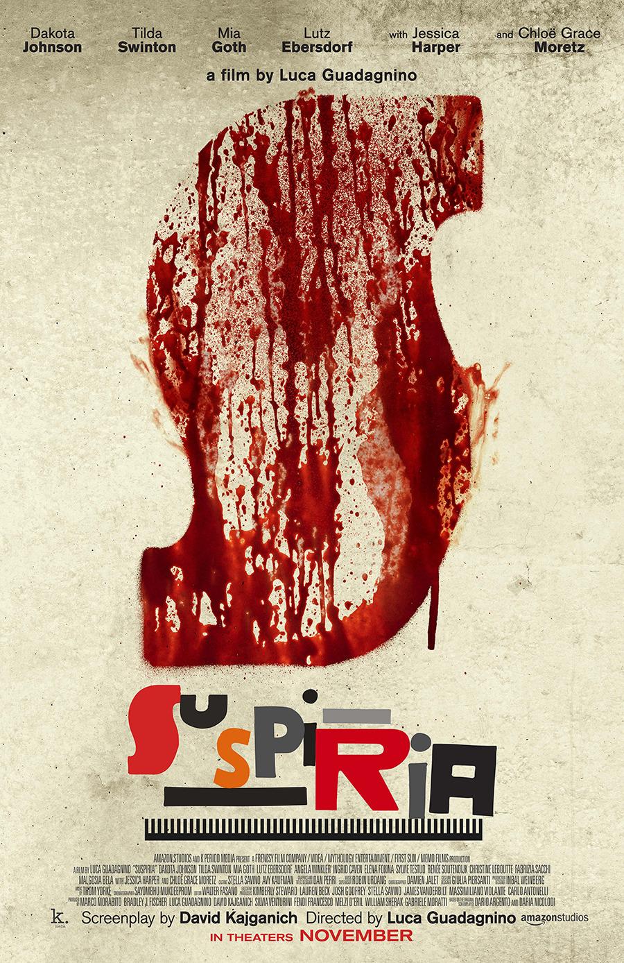 Suspiria 2018 poster
