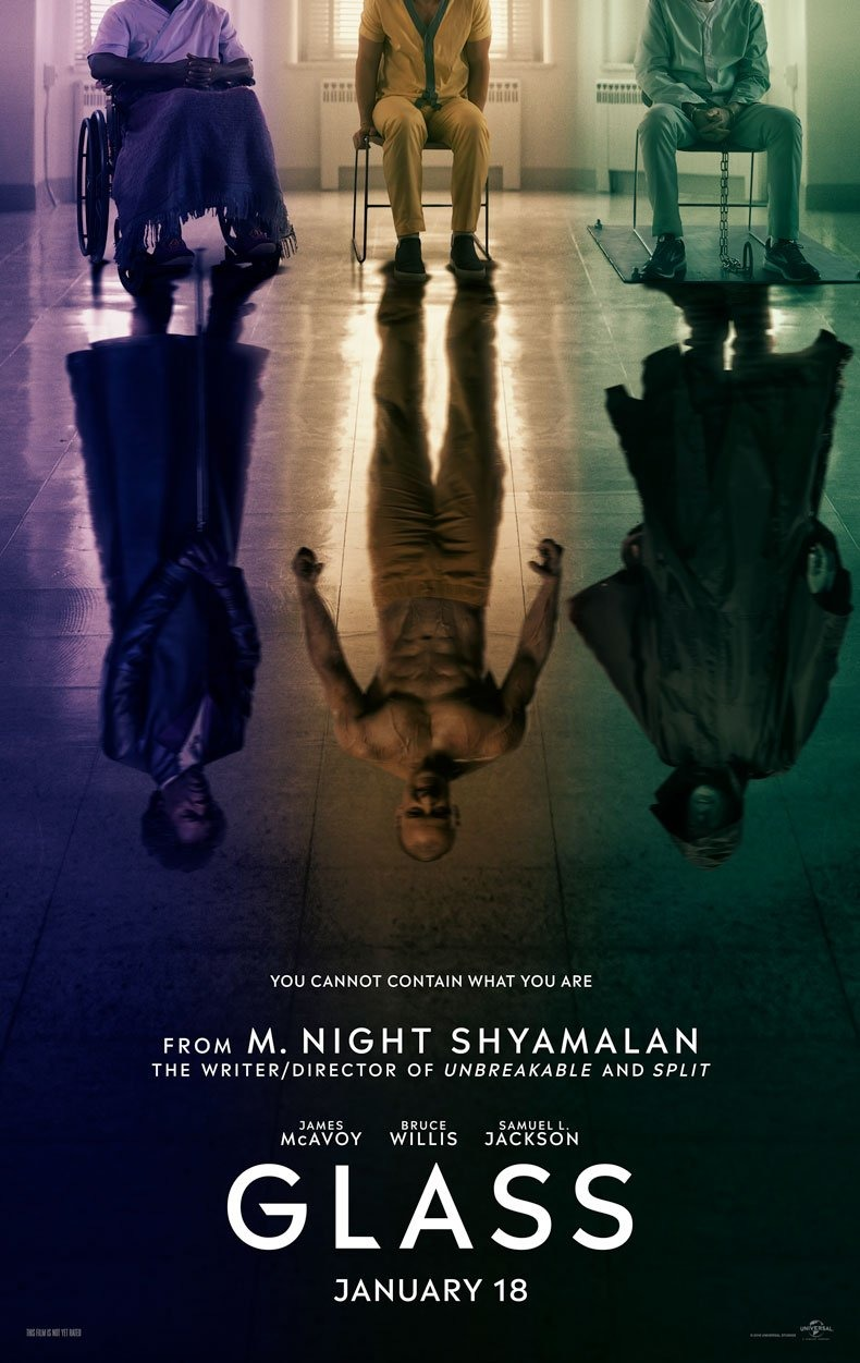 Glass teaser poster