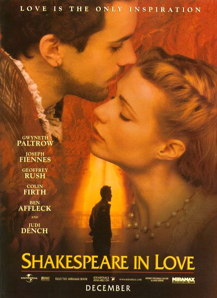 Shakespeare in Love movie poster
