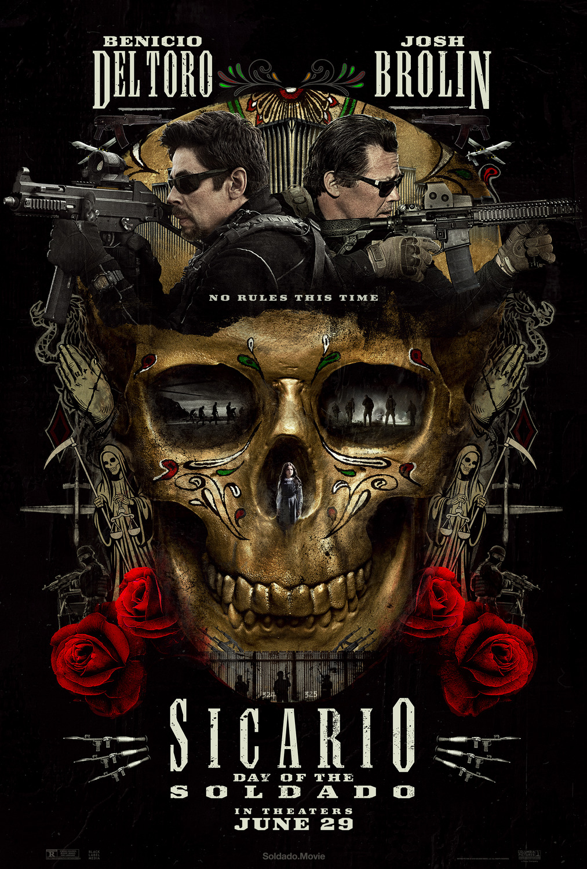 Sicario Day of the Soldado movie poster