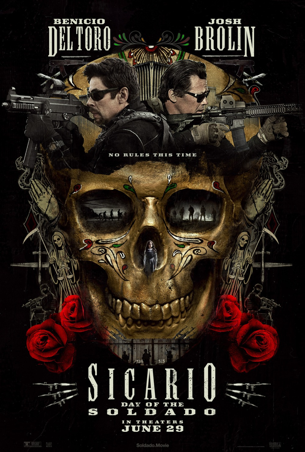 Sicario Day of the Soldado movie poster