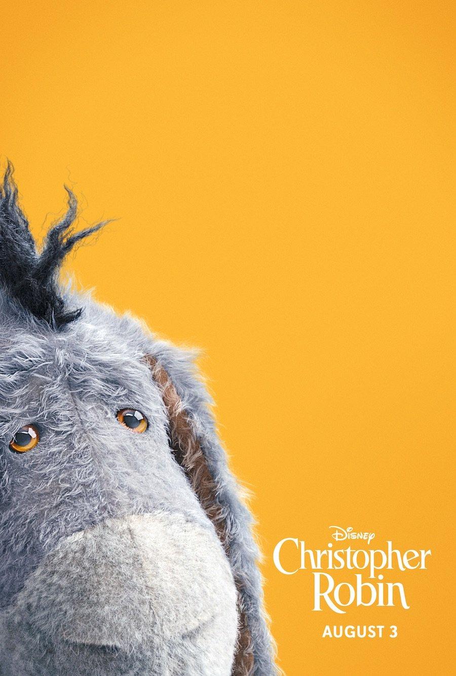 Christopher Robin Eeyore poster