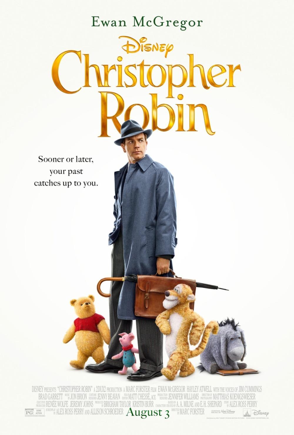 Christopher Robin movie poster