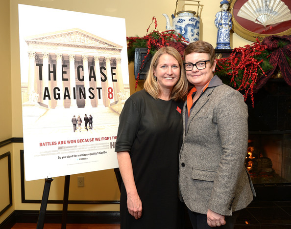 The Case Against 8 Kris Perry and Sandy Stier photo