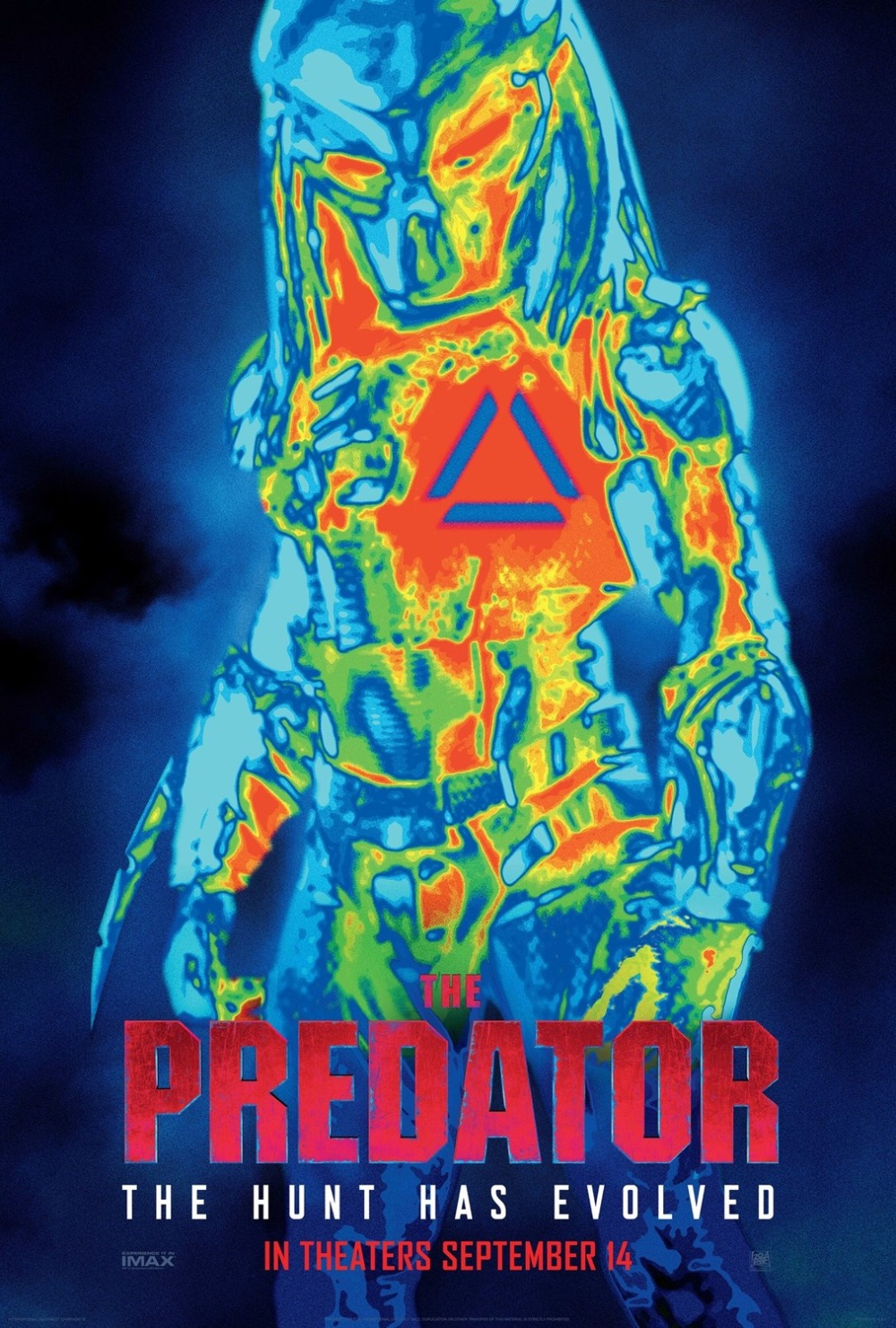 The Predator movie poster version 3