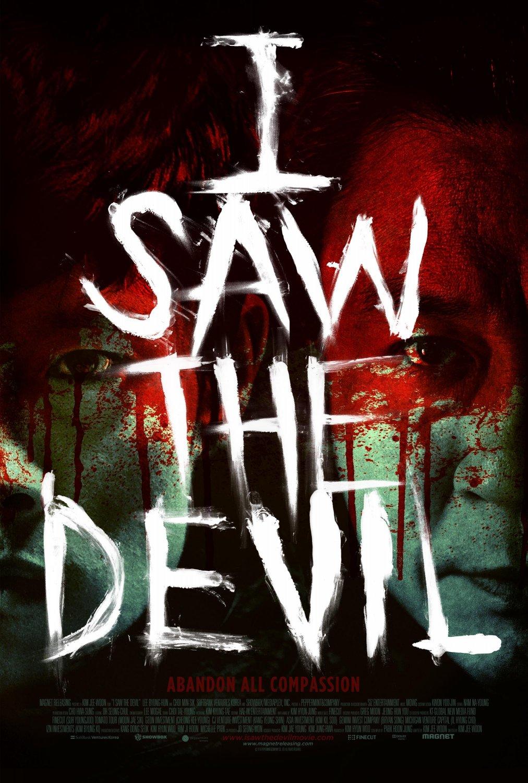 I Saw the Devil movie poster