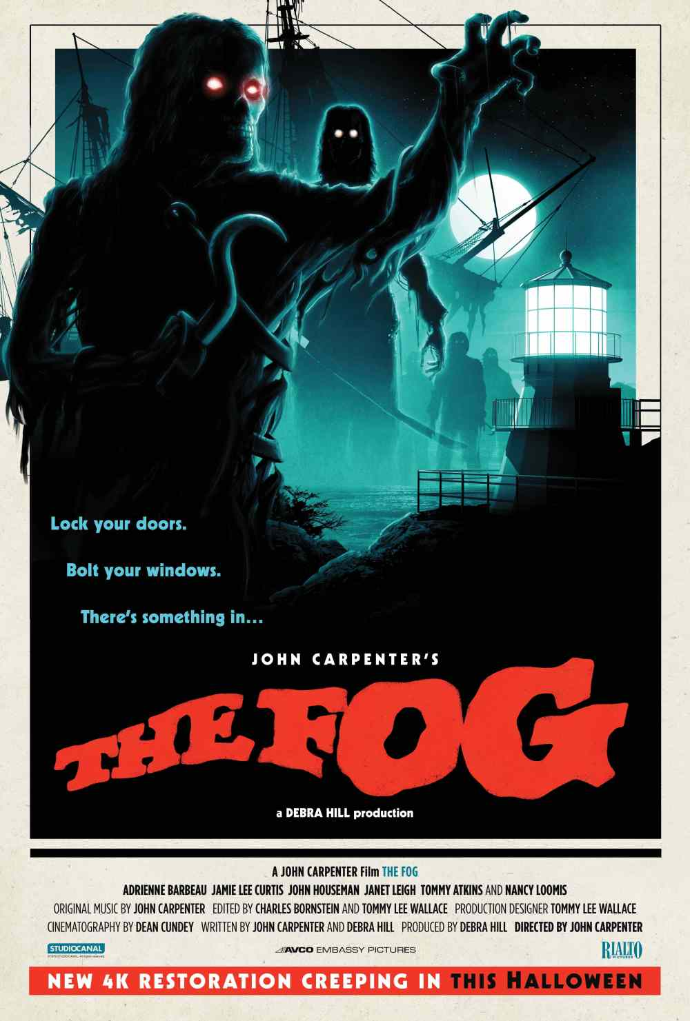 The Fog 4K Restoration poster