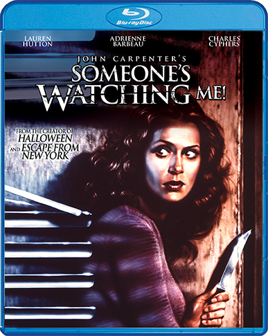 Someones Watching Me Blu ray cover