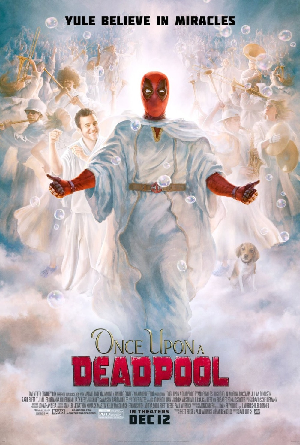 Once Upon a Deadpool poster