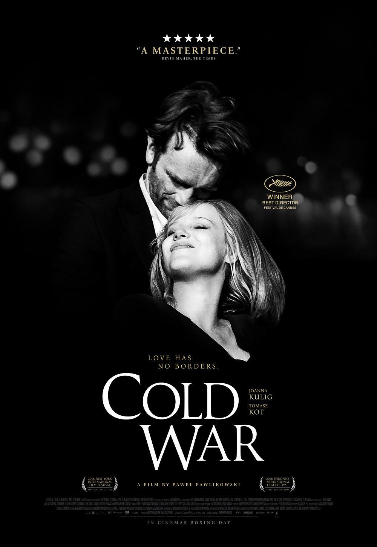 Cold War 2018 movie poster