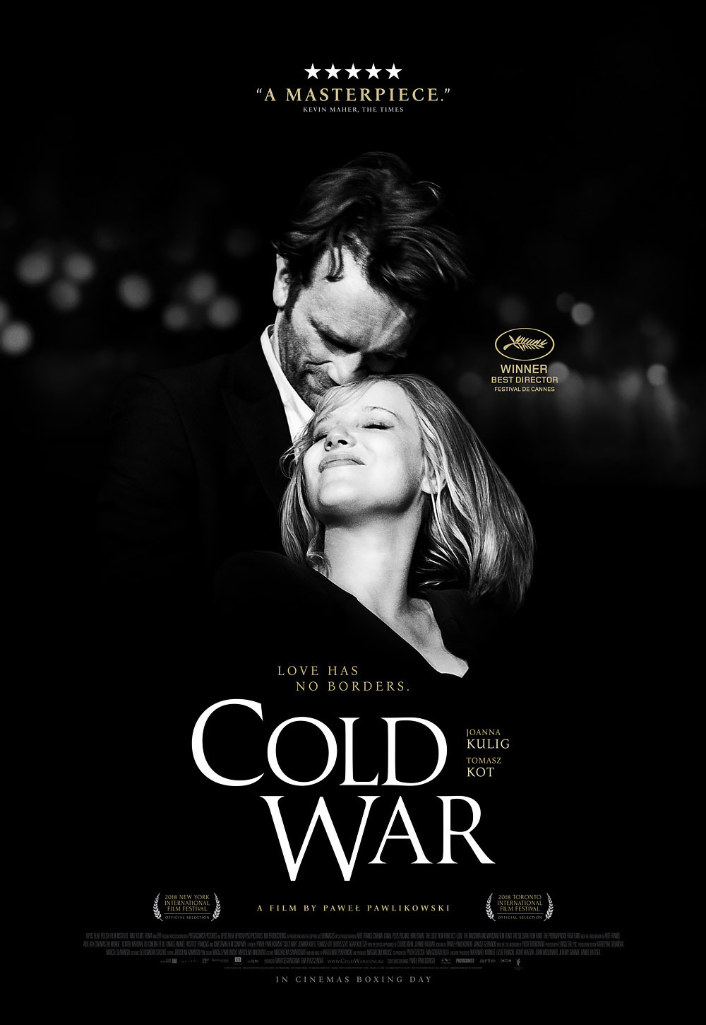Cold War 2018 movie poster