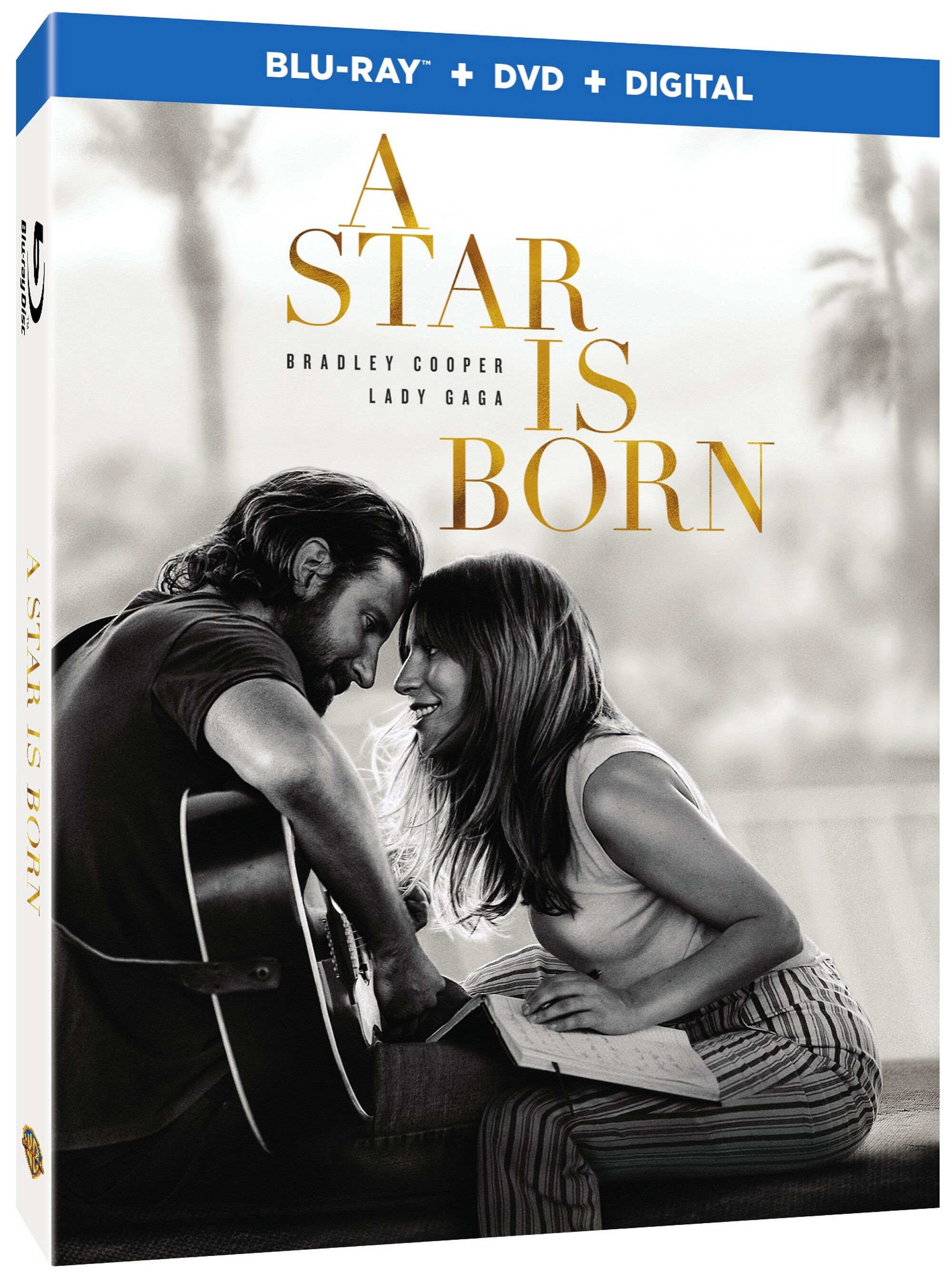A Star is Born Blu ray cover