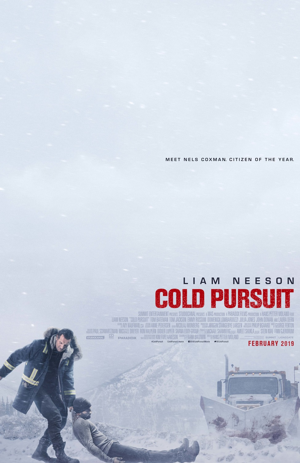 Cold Pursuit movie poster