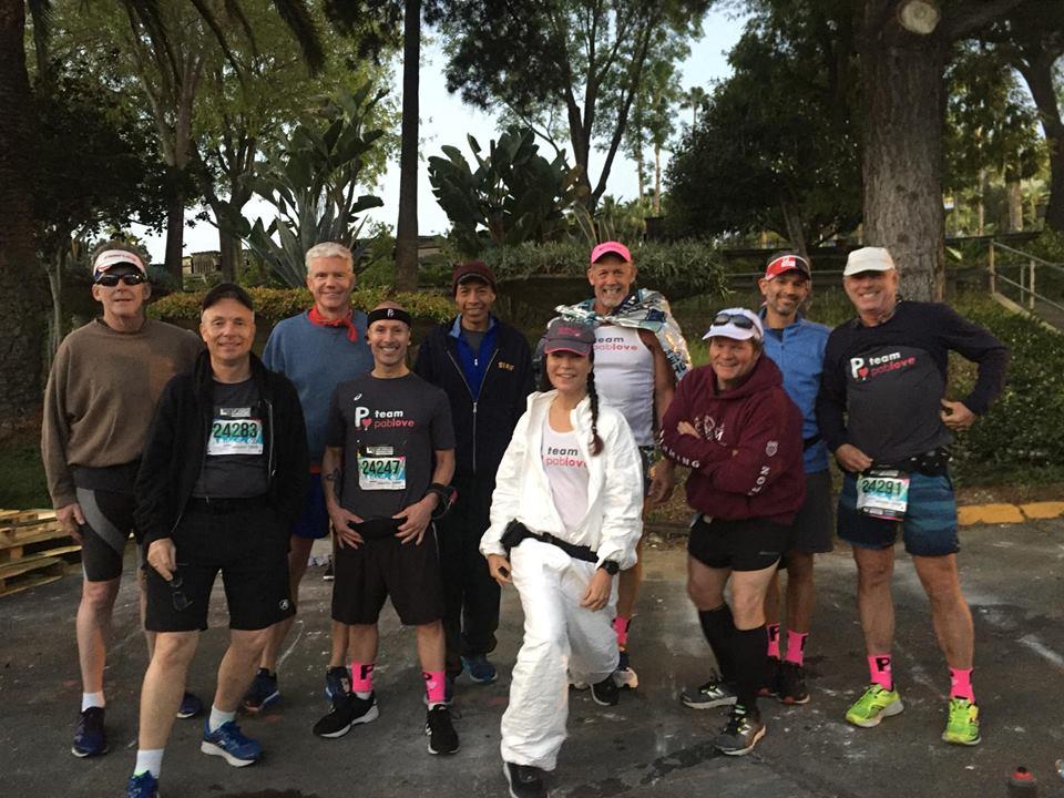 2019 LA Marathon full runners