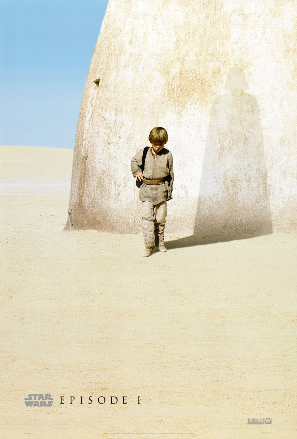Star Wars Phantom Menace teaser poster