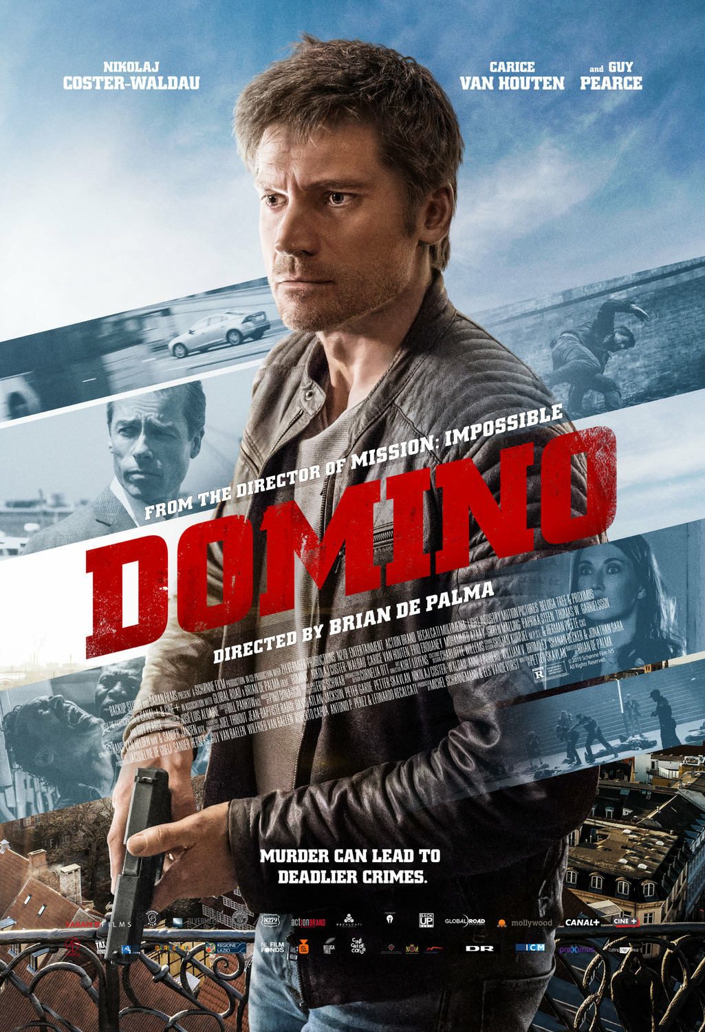 Domino 2019 movie poster