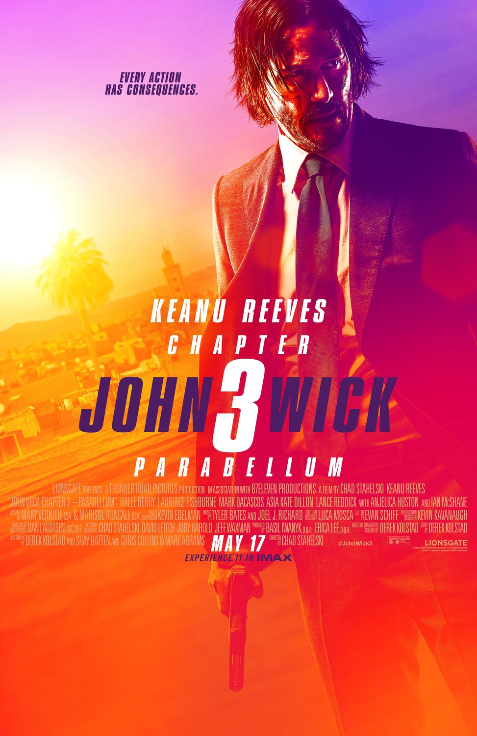 John Wick Chapter 3 movie poster