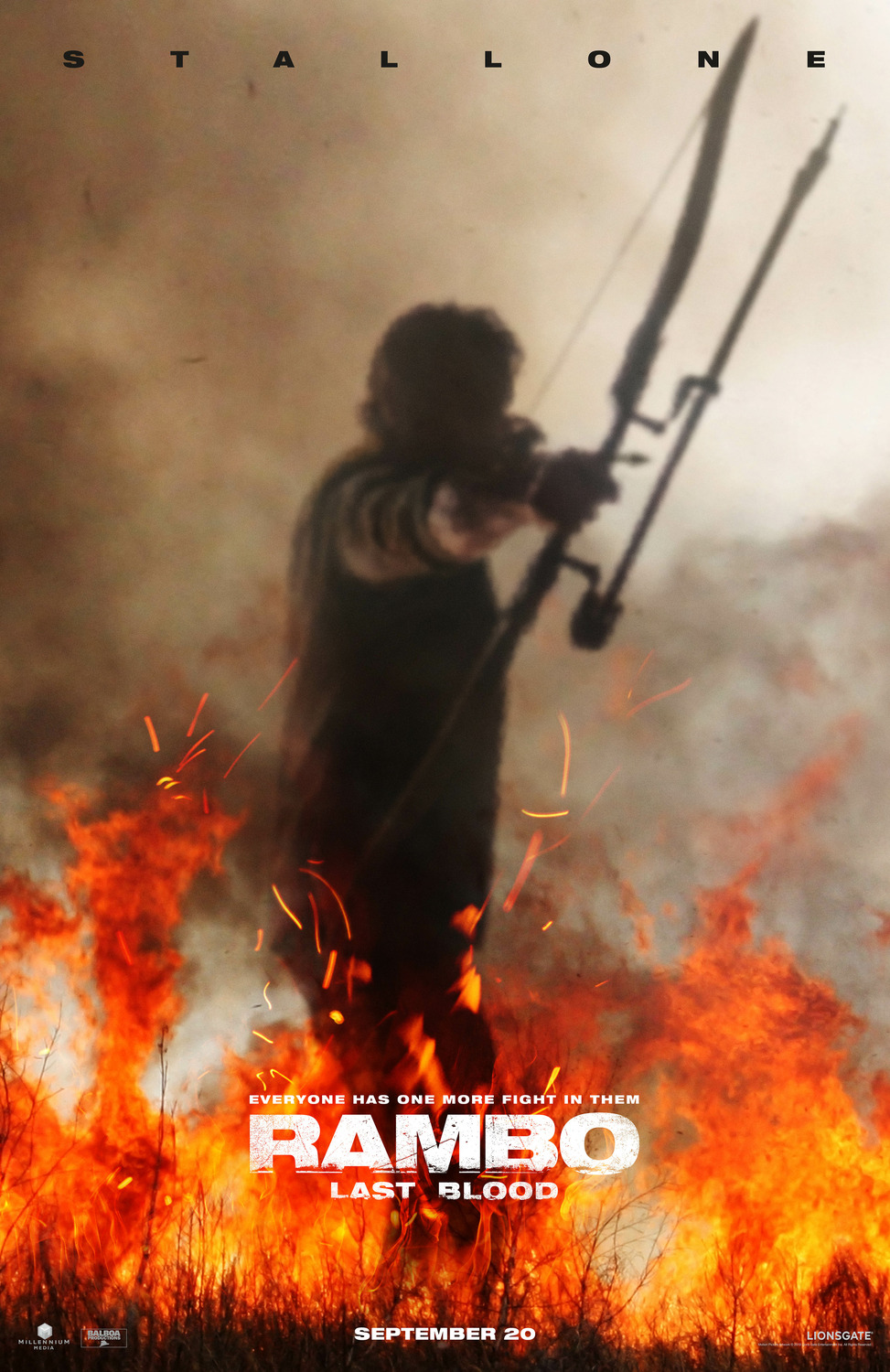 Rambo Last Blood Teaser Poster