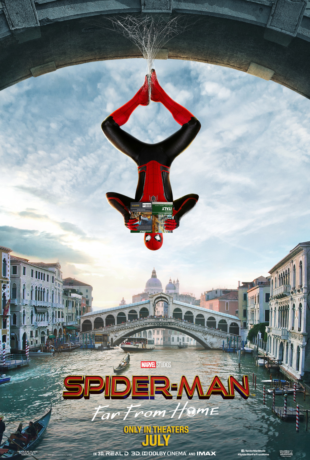Spiderman Far From Home teaser poster