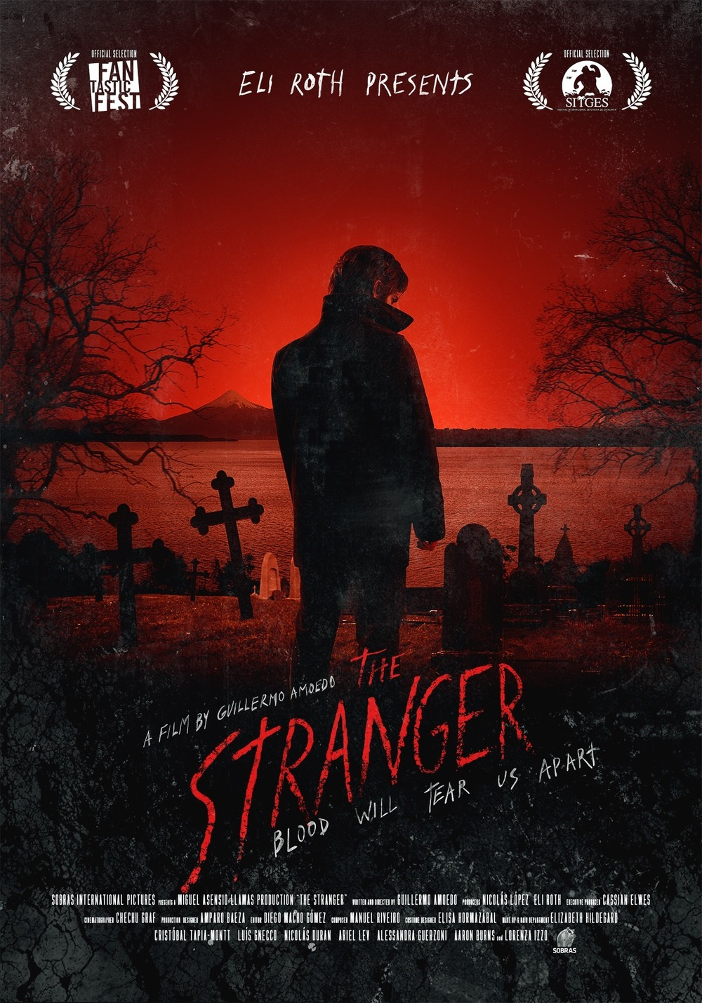 The Stranger 2014 movie poster