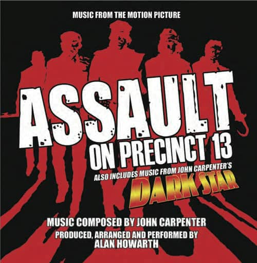 Assault on Precinct 13 Dark Star soundtrack cover