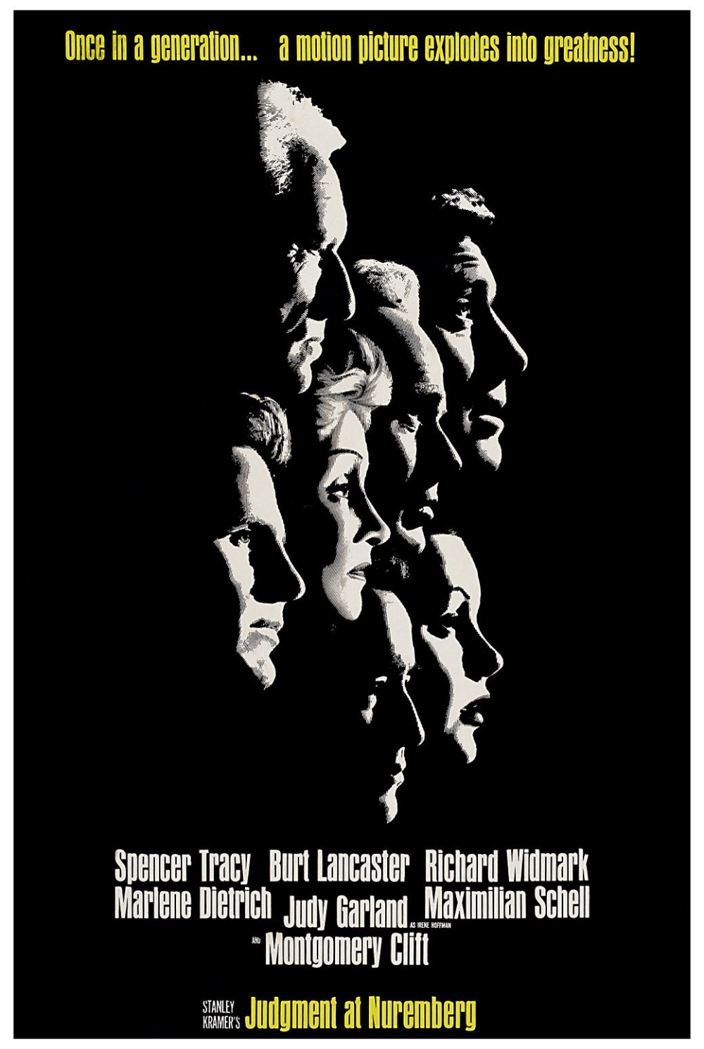 Judgment at Nuremberg movie poster