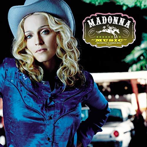 Madonna Music album cover
