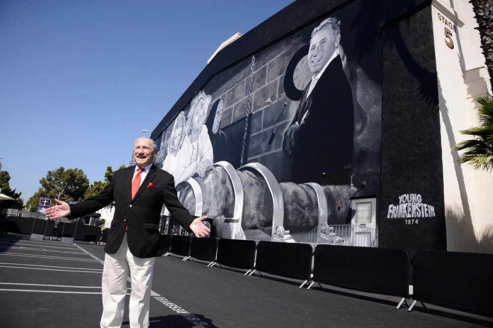 Mel Brooks Young Frankenstein mural