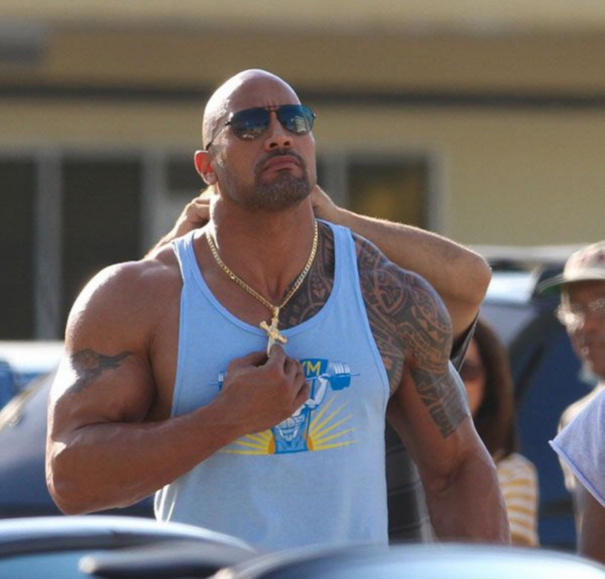 Pain and Gain Dwayne Johnson