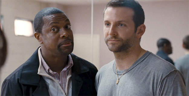 Chris Tucker in Silver Linings Playbook