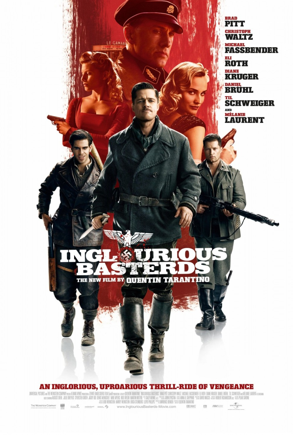 Inglorious Basterds movie poster