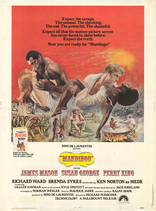 Mandingo movie poster