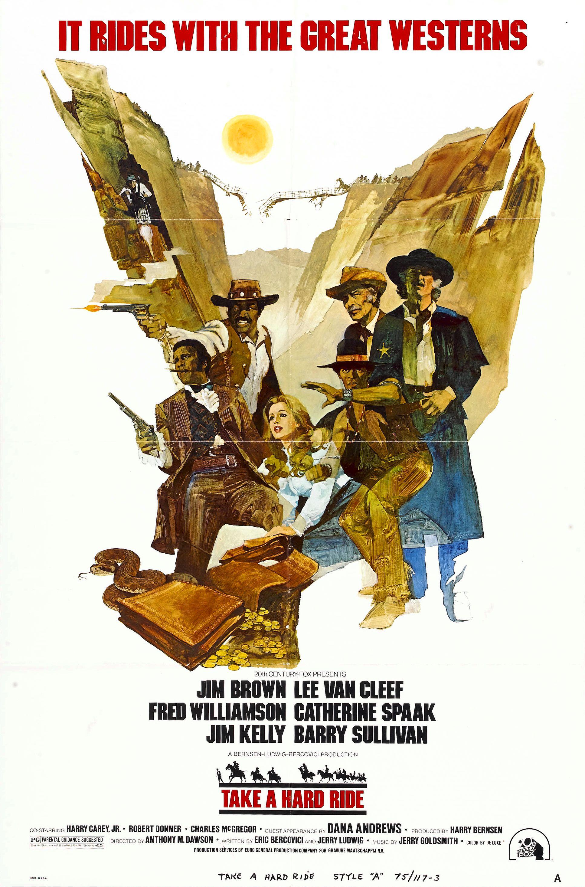Take a Hard Ride movie poster
