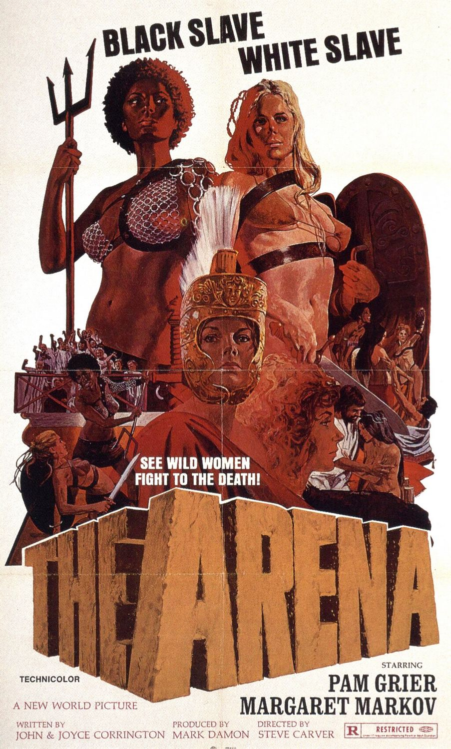 The Arena 1974 movie poster