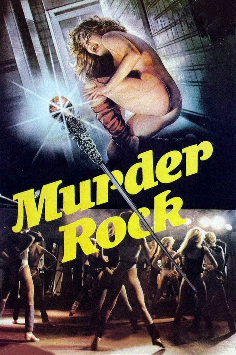 Murder Rock movie poster