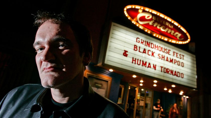 Quentin Tarantino New Beverly Cinema photo