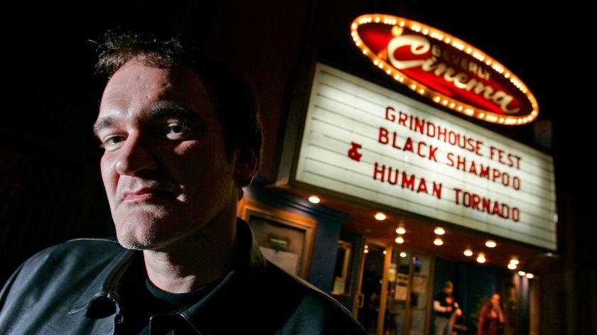 Quentin Tarantino New Beverly Cinema photo