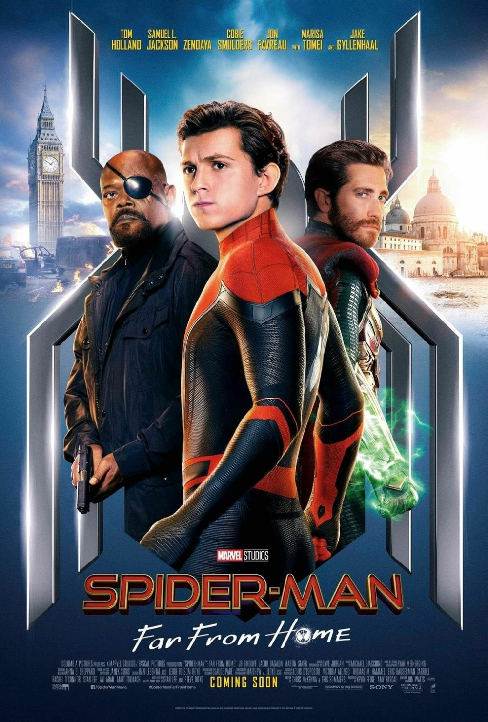 Spider Man Far From Home Theatrical Poster