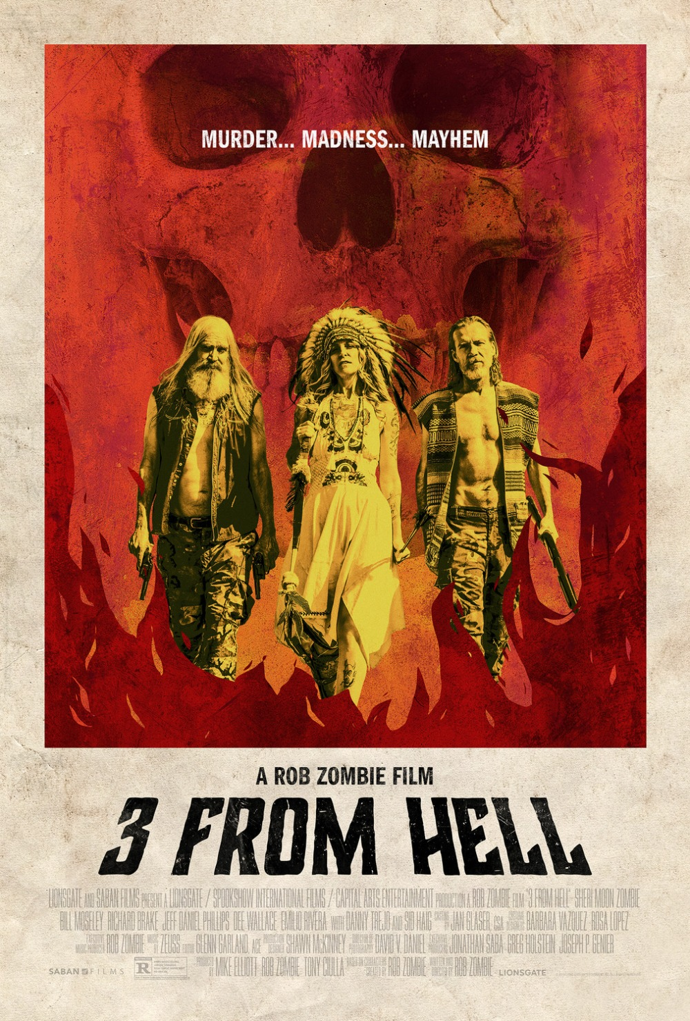 3 From Hell theatrical poster