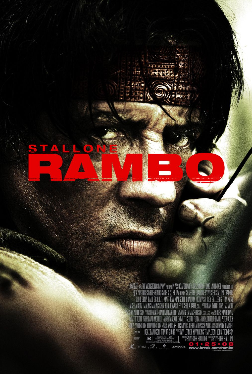 Rambo 2008 movie poster