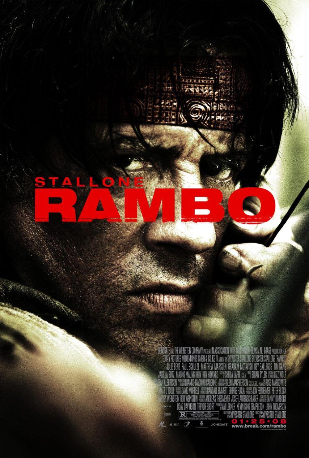 Rambo 2008 movie poster