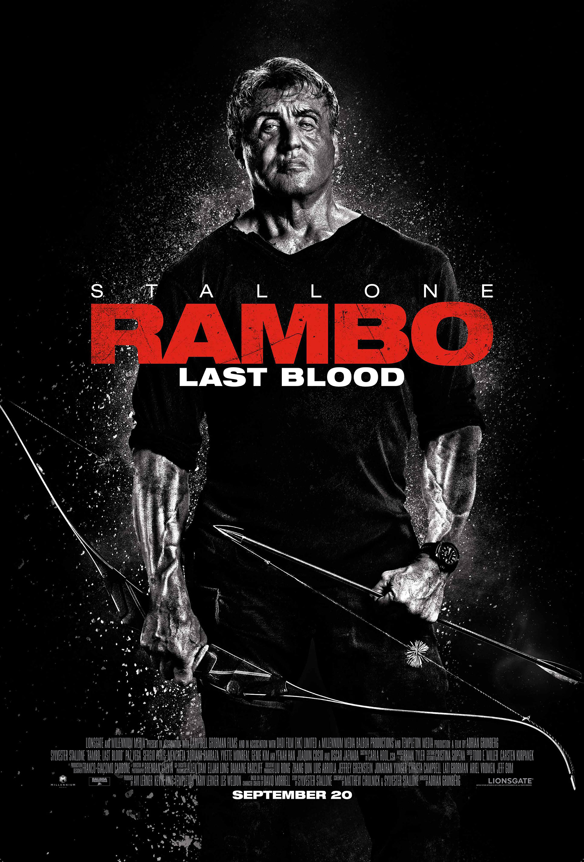 Rambo Last Blood theatrical poster