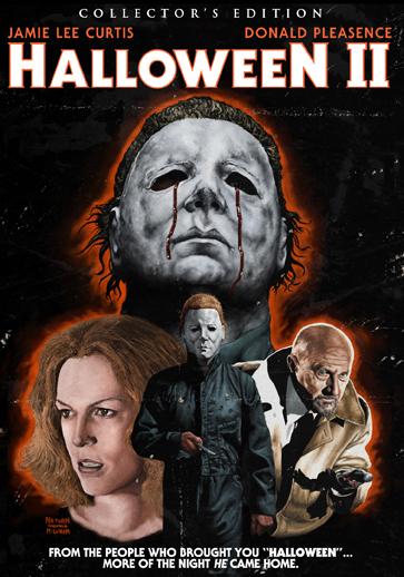Halloween II Shout Factory blu ray cover