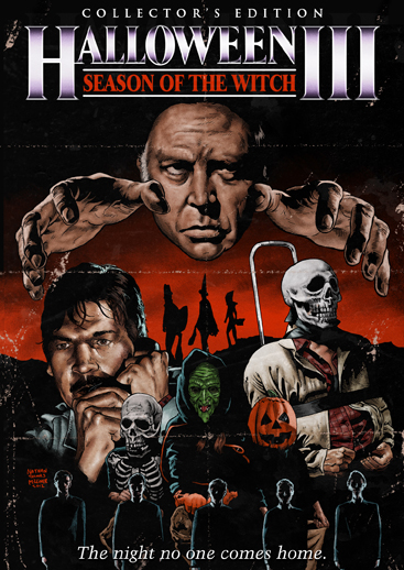 Halloween III blu ray cover